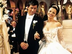 Hollywood Brides brought to you by... www.myfauxdiamond.com Wedding ensemble from the Nanny