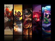 League of Legends- First Tournament's Winners