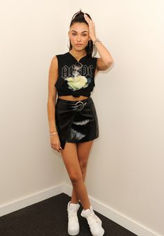 Madison Beer visits radio station Hits 97.3 in Fort Lauderdale