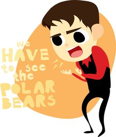 """We have to the see the polar bears!"" ""Yes we do skip! Roger Allam, Cabin Pressure, Dog Sounds, The Adventure Zone, Yellow Car, Bbc Radio, Geek Out, Martin Freeman, Fantastic Art"
