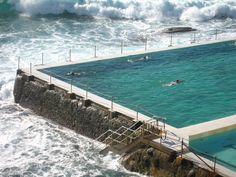 Bondi Beach Icebergs pool, Sydney, Australia
