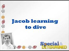 Video of Jacob practicing his swimming.  So important to teach swimming and safety swimming to children with special needs if they will be around a pool.  Also very good therapy for them as well. #specialanddetermined #specialneeds #parenting