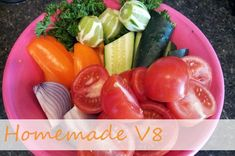 Recipe: Homemade V8 juice recipe --- yummola! | Nosh and Nourish