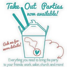 Take out party!  Contact me to do your own Take Out Party and earn free jewelry!  Loriluvsowls@gmail.com  #party #jewelrybar #catalogshow #origamiowl #free