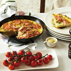 French Recipes - Ham and potato gratin Ham Recipes, Great Recipes, Cooking Recipes, Favorite Recipes, Recipies, French Food, Light Recipes, Entrees, Brunch