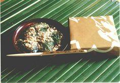 高台寺洛匠の草わらび餅。京都伊勢丹地下で購入可能。