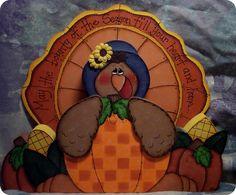 Cute thanksgiving craft turkey