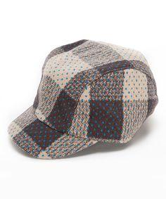 Look at this Brown Plaid Jockey Cap on  zulily today! Ainhoa Natalia  Errecart · gorras · sombrero de béisbol ... 45b3acaa018