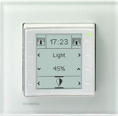 SIEMENS 5WG1227-2AB11 Raumbediengerät UP227 mit LCD Display