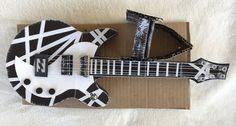 Arizona Prison Hand Made Original Art Craft 3D Guitar Music Wall Novelty Artwork