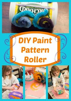 Life with Moore Babies: DIY Pattern Paint Roller
