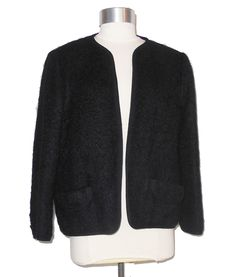 Vintage Rannoch Designs Mohair/Wool Lined Cardigan Jacket Size 10/12 item #9141 by MercantileRepublic on Etsy