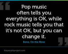 pic rock singers | Pop music often tells you everthing is OK, while rock music tells you ...