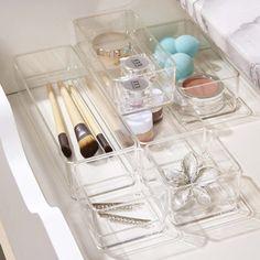 Bathroom Drawers, Vanity Drawers, Desk With Drawers, Vanity Set, Bathroom Organization, Makeup Organization, Bathroom Storage, Bathroom Ideas, Bathroom Interior