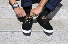 Etnies Skate shoes, Etnies Jameson SL Black/Camo