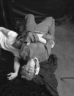 David Bowie and Iggy Pop, ca.1978?