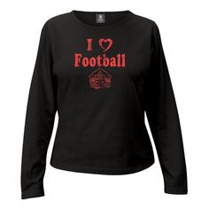 Hall of Fame Women's Long Sleeve Princess T-Shirt- Black - $14.99