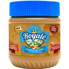 Buy Organic Royale diabetic friendly peanut butter roasted crunch - Diabetic friendly roasted crunch  peanut butter has a real taste of roasted peanuts with tiny peanut crunchy bites and is bested suited for those who are health concious and prefer to eat less sugar, this peanut butter is made with 97 per cent of peanuts and is rich source of all vital vitamins and nutrients