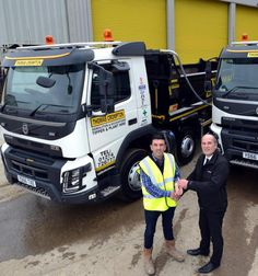 Safety first with £2.2m trucks