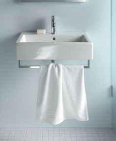Duravit - Bathroom design series: Vero - washbasins, toilets, bidets and bath tubs from Duravit.