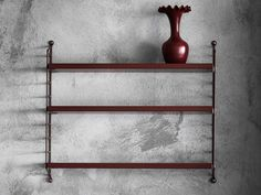 String® Pocket Burgundy is the latest stylish addition to the iconic String Pocket Shelving collection. String Pocket, Storage Shelves, Shelving, Shelf, Design Your Own, Bookshelves, Entryway Tables, Burgundy, Stuff To Buy