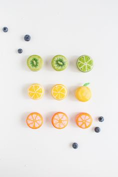 DIY // Fruit macarons