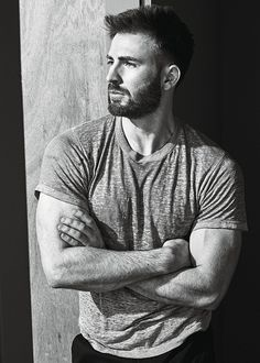 "theavengers: "" Chris Evans photographed by Mario Sorrenti for W Magazine """