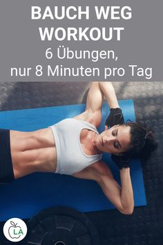 Abdominal muscle training at home Lose belly fat quickly .-Bauchmuskeltraining für Zuhause Schnell Bauchfett verlieren – Serena Abdominal muscle training for home Lose belly fat quickly – lose - Fitness Motivation, Fitness Routines, Fitness Goals, Abdominal Exercises, Abdominal Muscles, Abdominal Workout, Pilates Workout, Butt Workout, Muscle Fitness