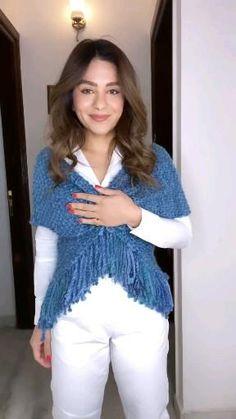 Stylish Dresses For Girls, Stylish Dress Designs, Indian Fashion Dresses, Girls Fashion Clothes, Diy Fashion Hacks, Ways To Wear A Scarf, Sleeves Designs For Dresses, Scarf Design, Clothing Hacks