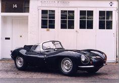 Jaguar D-Type XK SS