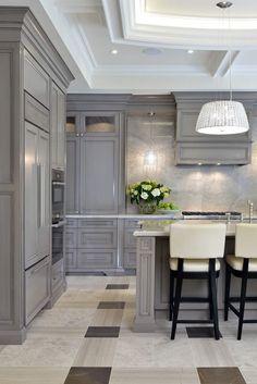 Elegant kitchen with charisma design