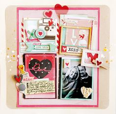 Crate Paper | Christine Middlecamp http://www.scrapadabadoo.com/item_6294/Crate-Paper-Love-Notes-Collection.htm