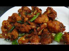 Crispy Cauliflower 65 recipe-Gobi 65 Recipe-Cauliflower Chops By Healthy...