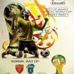 Official City of Miami World Cup 2014 Final Street Party: http://www.soflanights.com/?p=109748