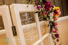 Lake Mary Events Center: Stephanie and Jason's Rustic Wedding | Steven Miller Photography | A Chair Affair Event Rentals | Rustic Seating Chart