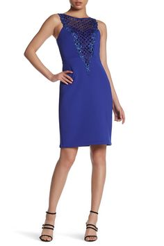 Sleeveless Embellished Dress by Sue Wong on @nordstrom_rack