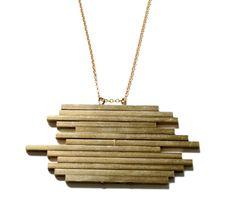 Mesa Pendant Necklace