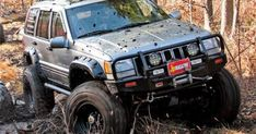 154_0805_15_z 1997_jeep_grand_cherokee_turd_chaser front_view.jpg (440A?330) | See more about Cherokee.