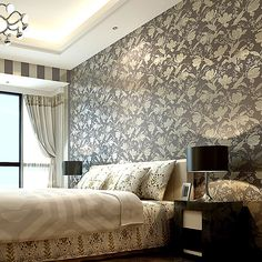 Painting Supplies & Wall Treatments Enthusiastic Beibehang Gold And Silver Foil Mosaic Hotel Clothing Store Ktv Ceiling Wallpaper Living Room Background Restaurant Wall Paper