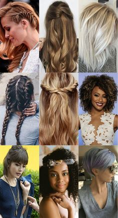 Inspirações de penteados para todos os tipos de ocasião, os mais pinados do Pinterest!