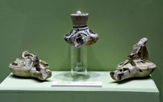 Candiles de piquera del período califal, 912-1.035.