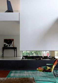 This house was designed by the prolific Spanish architect, Patricia Urquiola for Patrizia Moroso, creative director of the  Italian furniture company Moroso.