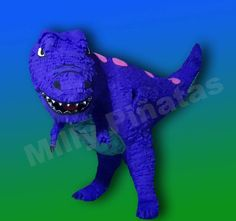 T-Rex, Velociraptor, cuello largo, un gran dinosaurio, the good dinosaur, piñata, fiesta, Milly Piñatas