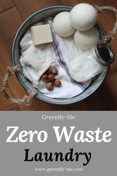 , Zero Waste Laundry - Want to create a zero waste laundry routine? , Zero Waste Laundry - Want to create a zero waste laundry routine? Intrigued by soap nuts, wool dryer balls and stain remover sticks but don't know how. Zero Waste Home, Going Zero Waste, No Waste, Reduce Waste, Routine, Soap Nuts, Wool Dryer Balls, Eco Friendly House, Eco Friendly Cars