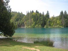Discover Croatia journalists and bloggers exploring Plitvice Lakes National Park, Lika-Senj County, Croatia.