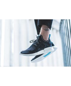 check out 61bfa 809fd Adidas NMD Xr1 Mens Core Black Bright Blue White Shoe Cheap Adidas Nmd, Adidas  Nmd