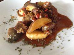 Receta de Guiso de patatas con carne - RecetasGratis.net
