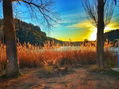 Atardeceres | Sunsets Parque Natural de las Lagunas de Ruidera #lagunasderuidera #lamanchahumeda #mobilephotography