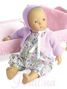 528224937c Sylvia Natterer has designed this gorgeous new baby doll called Bibichou  Fleur for Petitcollin.