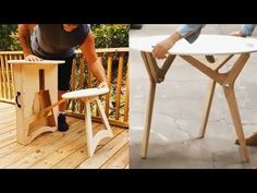 30 GENIUS Wood Products! Satisfying Wood Furnitures - YouTube